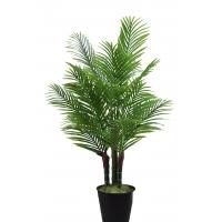 Пальма Арека искусственная в кашпо 135 см