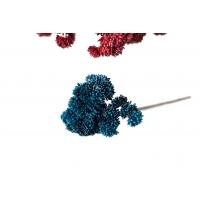 Суккулент Седум малый искусственный синий 21 см (Real Touch)
