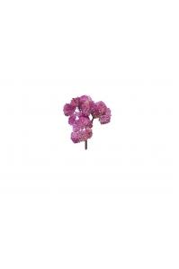 Суккулент Седум малый искусственный розово-фиолетовый 21 см (Real Touch)