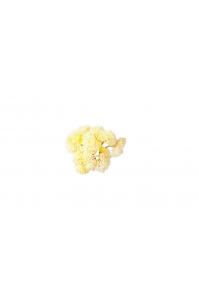 Суккулент Седум малый искусственный белый 21 см (Real Touch)