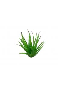 Куст Алоэ искусственный зелено-красный 27 см (Real Touch)