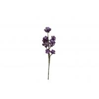 Суккулент Седум Компрессум искусственный фиолетовый 16 см (Real Touch)
