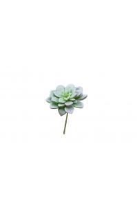 Суккулент Эхеверия Десмета искусственный зеленый 8 см (Real Touch)