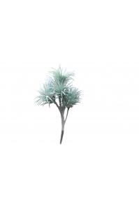 Тилландсия Ионанта искусственная бирюзово-зеленая 20 см