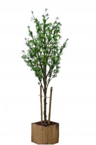 Дерево мини Festuca искусственное зеленое в кашпо 140 см