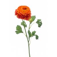 Ранункулюс искусственный оранжевый 53 см
