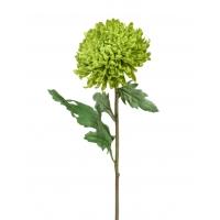 Хризантема Шамрок искусственная светло-зеленая 49 см