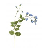 Горошек цветной искусственный нежно голубой 63 см