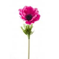 Анемон искусственный розовый 47 см