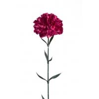 Гвоздика искусственная розово-лиловая 65 см