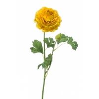 Ранункулюс искусственный желтый 53 см