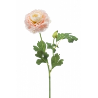 Ранункулюс искусственный розовый 53 см