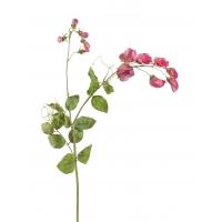 Цветной горошек искусственный ярко-розовый 63 см