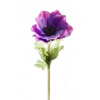 Анемон искусственный фиолетовый 47 см