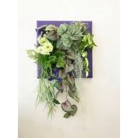 Фитокартина из искусственных растений «Паутинка» 60 x 100 см