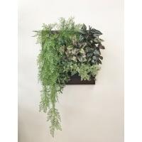 Фитокартина из искусственных растений «Каскад» 70 x 100 см