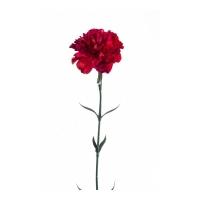 Гвоздика искусственная красная 65 см