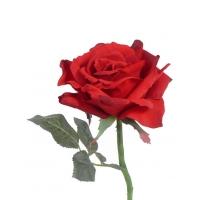 Роза Королевская искусственная красная 31 см
