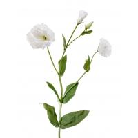 Эустома махровая искусственная белая 78 см