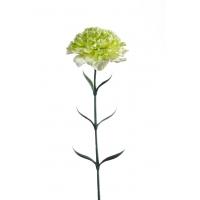 Гвоздика искусственная зеленая 65 см