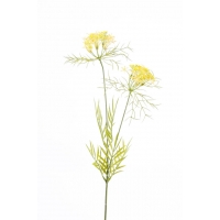 Укроп искусственный желтый 75 см