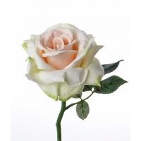 Роза Королевская искусственная лайм 31 см