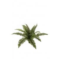 Папоротник Бостон искусственный зеленый 43 см