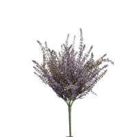 Вереск куст искусственный фиолетовый 35 см