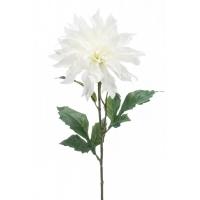 Георгин искусственный белый 60 см