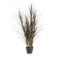 Трава искусственная с солнцезащитным покрытием UV в кашпо 115 см