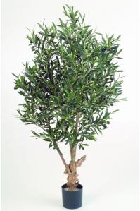 Олива Твист искусственная с плодами