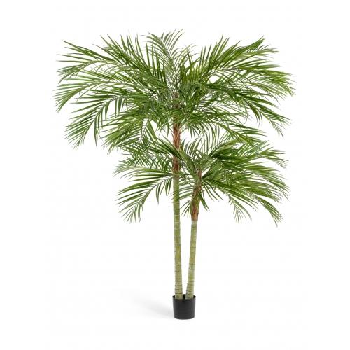 Пальма Арека искусственная двухствольная